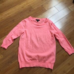 J Crew Knit Pink Sweater